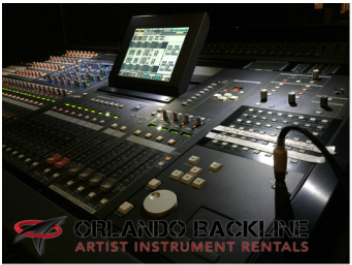 AUDIO SERVICES-Backline Instrument Rentals Orlando Florida
